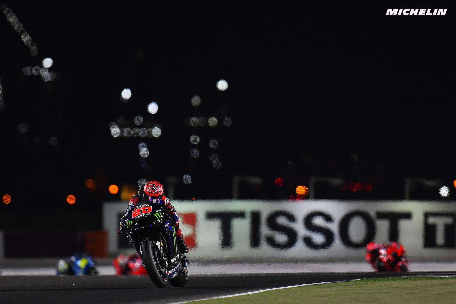 ドーハGP優勝 ファビオ・クアルタラロ「今回の優勝は戦略をしっかり練って掴んだもの」