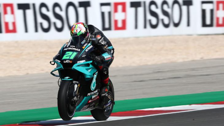 MotoGP2021 ポルトガルGP 予選5位フランコ・モルビデッリ「1周目の状況次第だろう」
