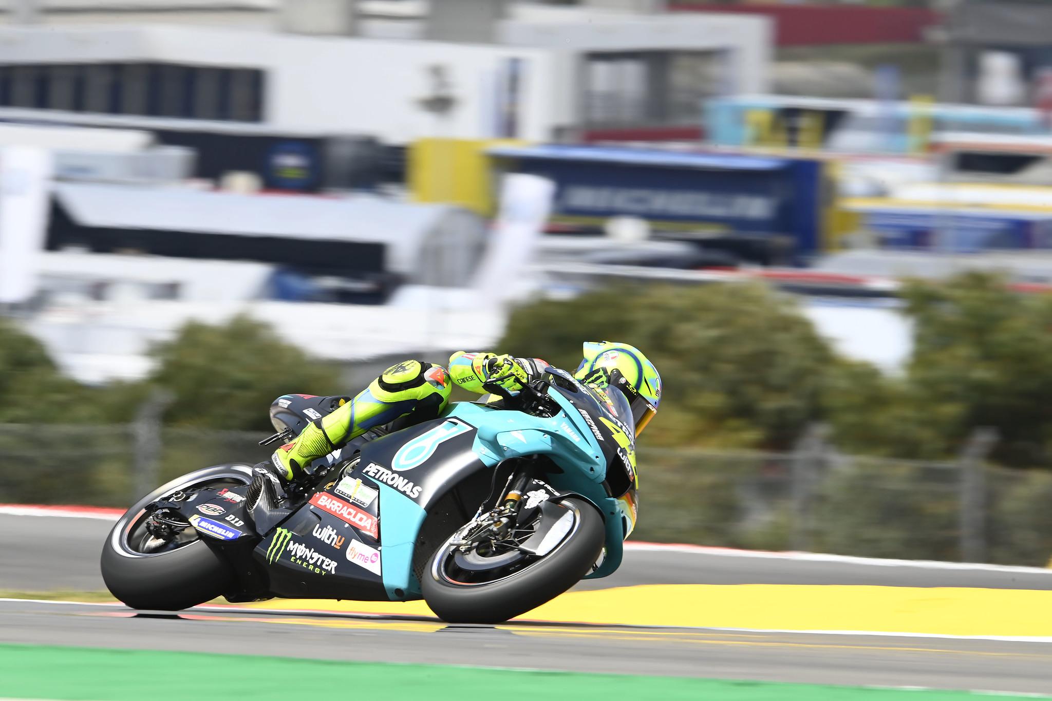 ポルトガルGP 初日15位バレンティーノ・ロッシ「明日はFP3でトップ10獲得が目標」