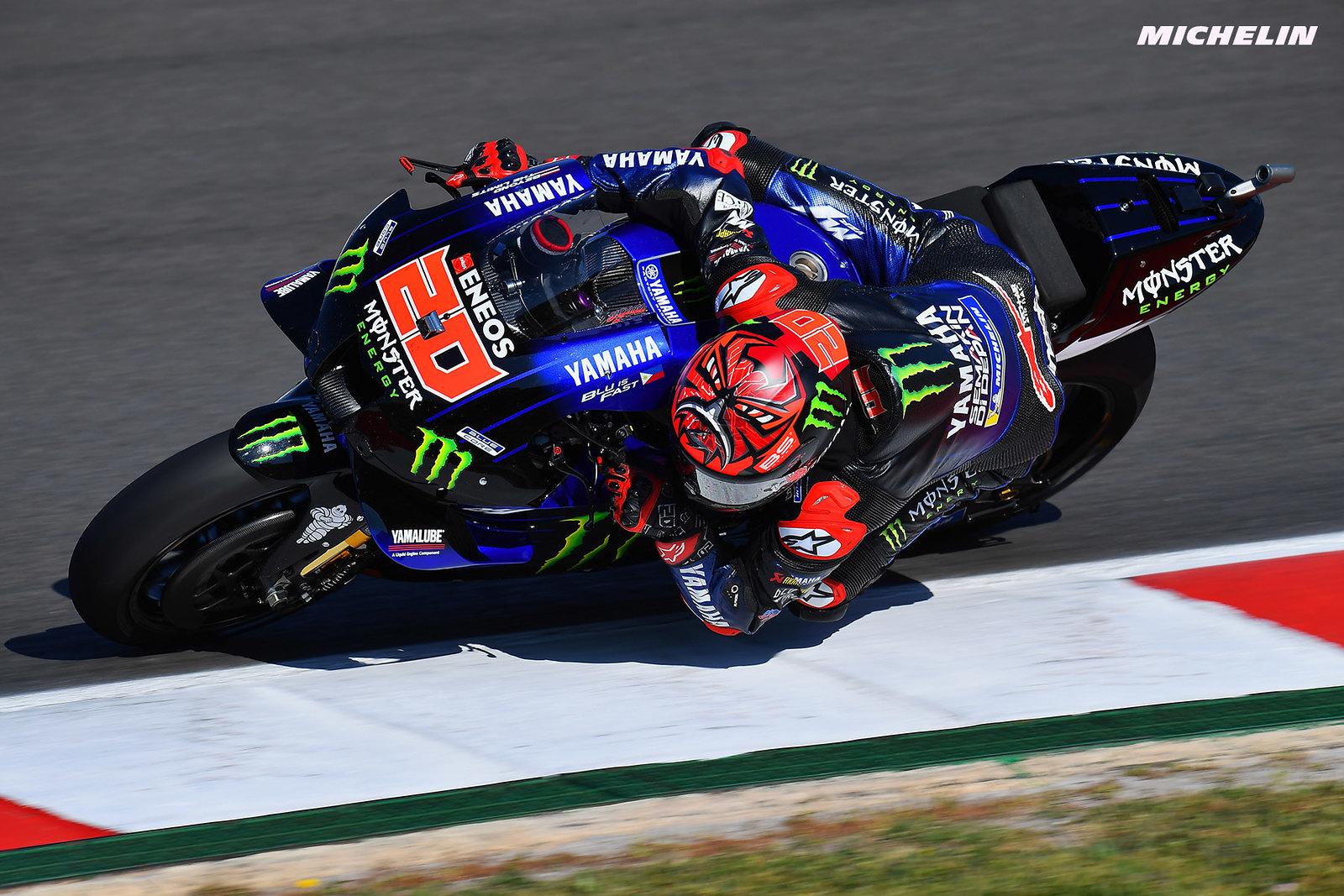 MotoGP2021 ポルトガルGP 予選1位ファビオ・クアルタラロ「FP2の時点で高いポテンシャルがあるとわかった」