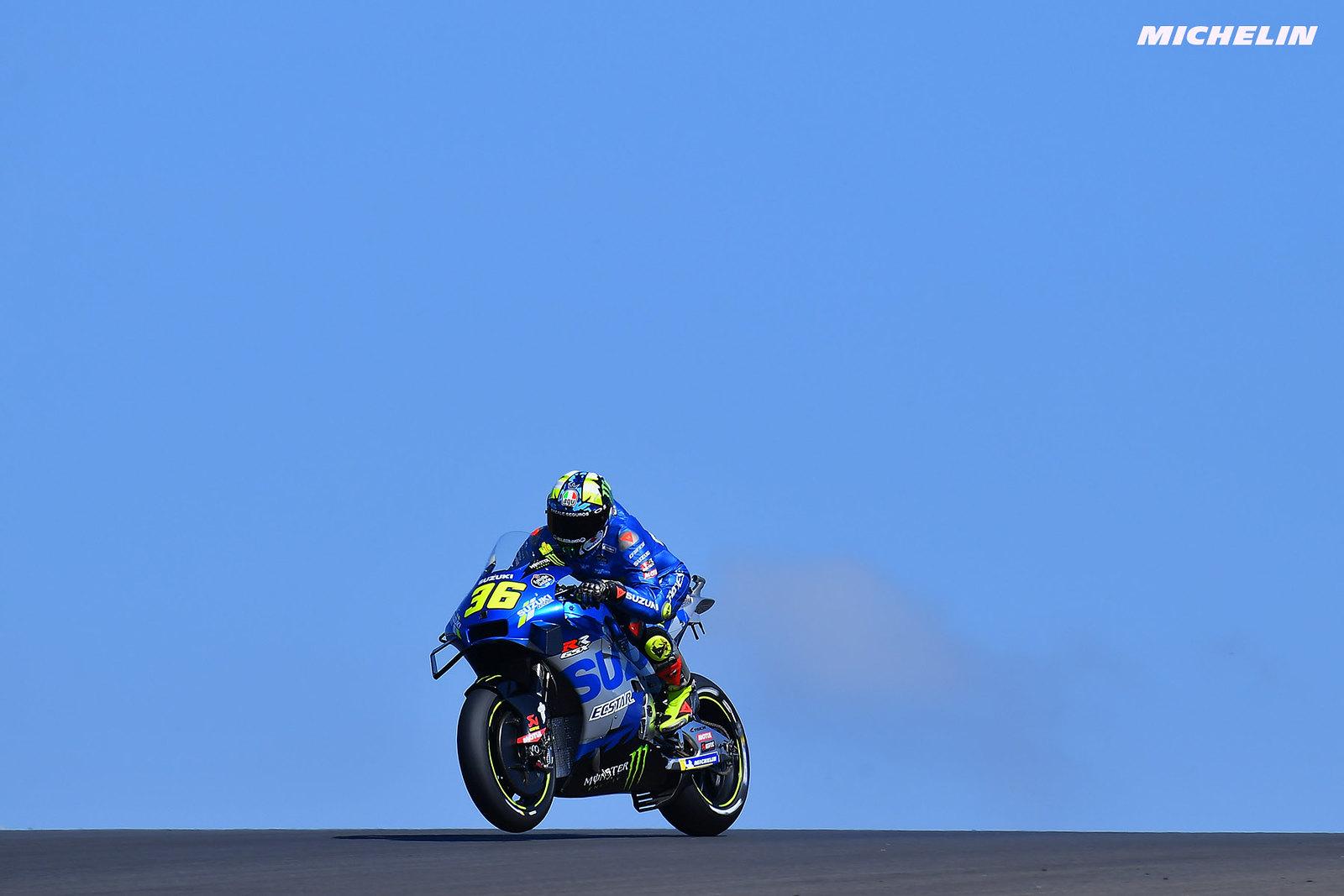 MotoGP2021 ポルトガルGP 予選9位ジョアン・ミル「タイヤの本数が足りず、2度目のアタックは出来なかった」