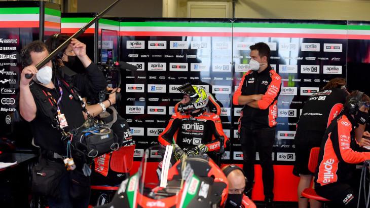 MotoGP2021 ポルトガルGP 予選7位アレイシ・エスパルガロ「もう少し良い位置で走行出来たかも」