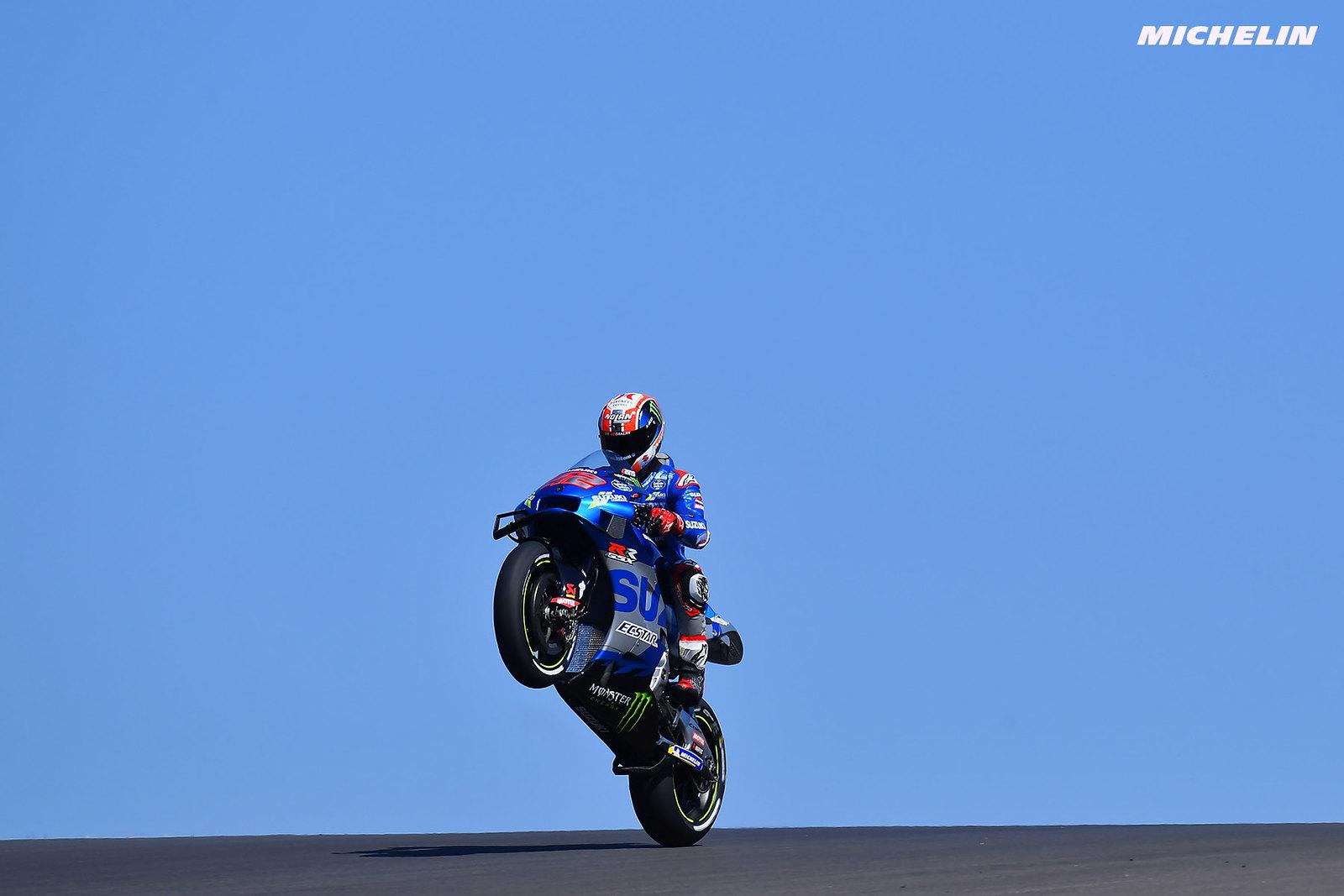 MotoGP2021 ポルトガルGP 予選2位アレックス・リンス「フロントローを獲得出来たのは大きい」