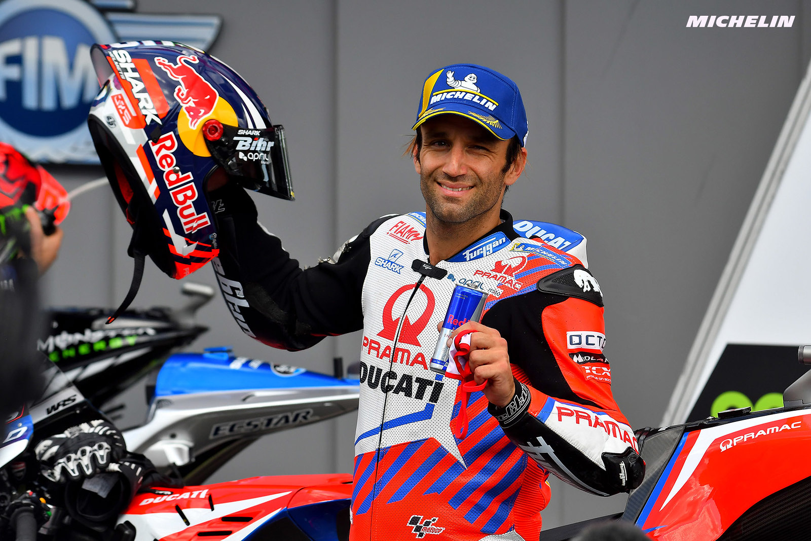 MotoGP2021 ポルトガルGP 予選3位ヨハン・ザルコ「マーシャルを説得して自走でピットに戻った」