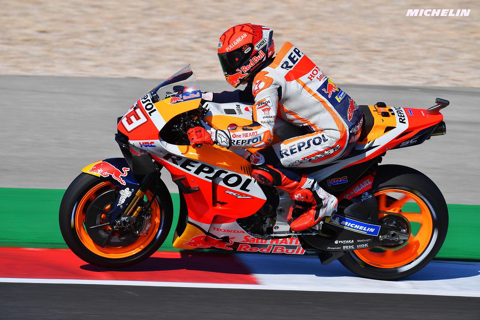 MotoGP2021 ポルトガルGP 予選6位マルク・マルケス「何かを学ぶならチャンピオンから学ぶのが一番」