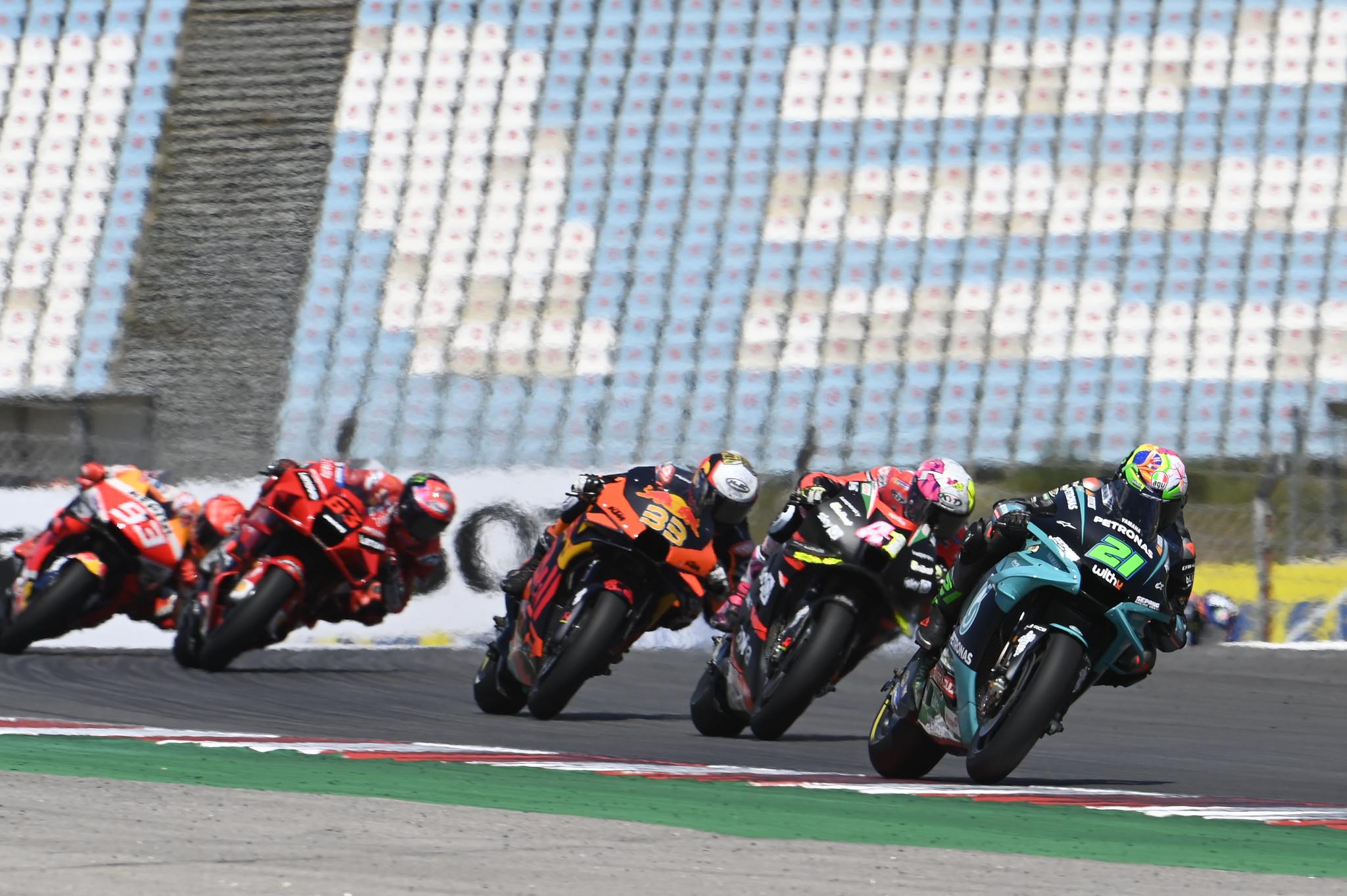 MotoGP2021 ポルトガルGP 4位フランコ・モルビデッリ「最後にプッシュするポテンシャルがなかった」
