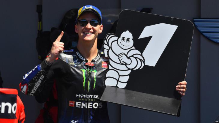 MotoGP2021ポルトガルGP 優勝ファビオ・クアルタラロ「メンタル面での成長を実感出来た」