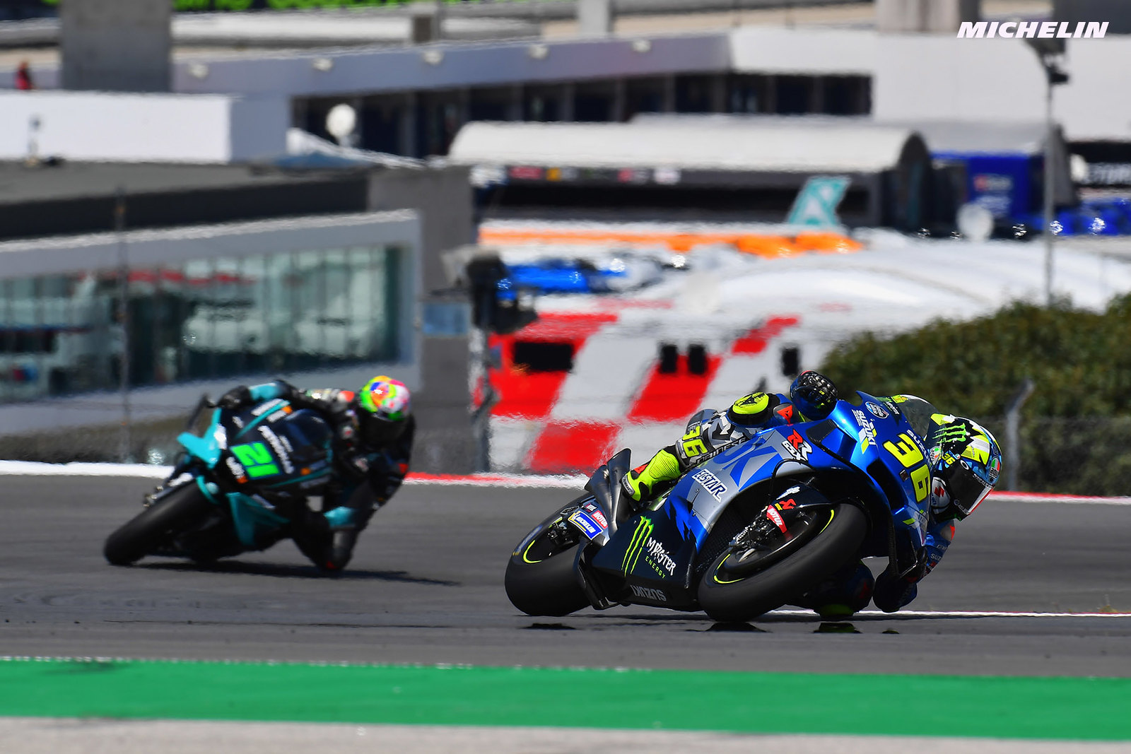 MotoGP2021 ポルトガルGP ジョアン・ミル「ベストとは言えない状況で表彰台を獲得出来た」