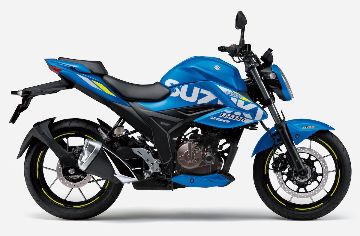 スズキ 「ジクサーSF250」、「ジクサー250」のカラーリングを変更して発売