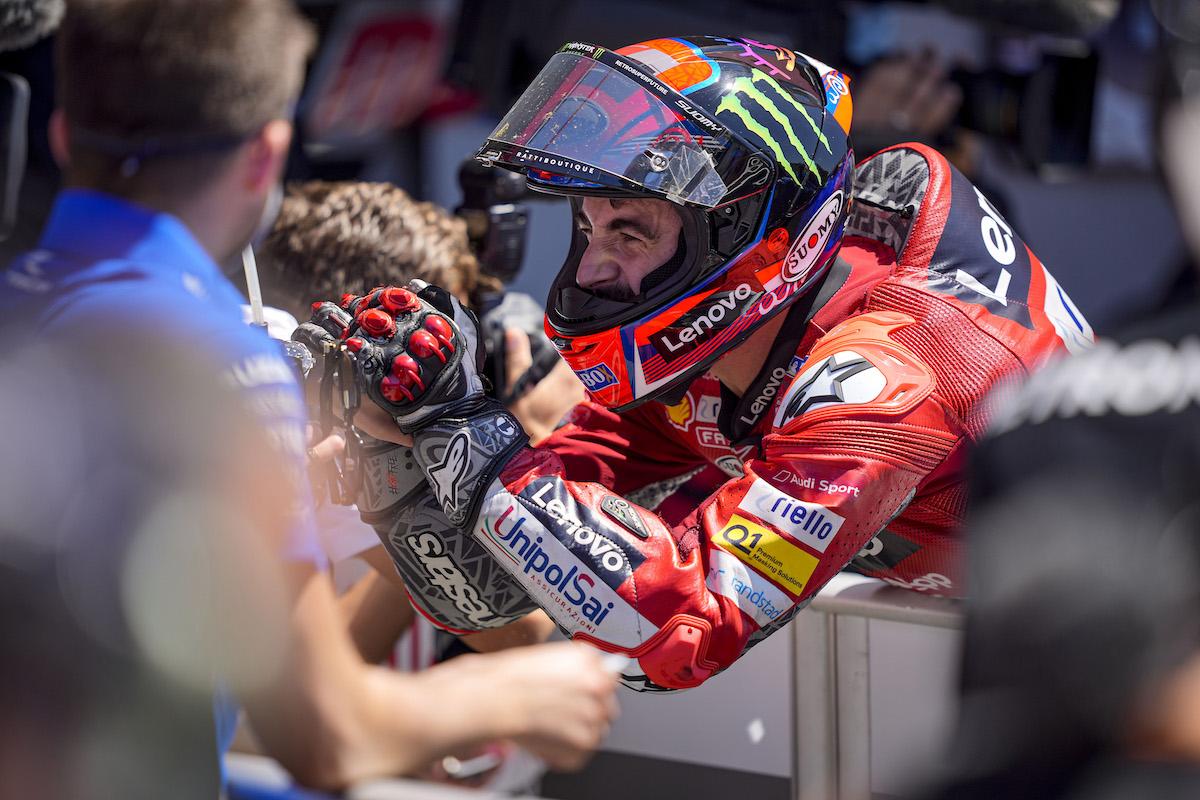 MotoGP2021 ポルトガルGP 2位フランセスコ・バグナイア「 昨日の時点で表彰台は無理だと思っていた」
