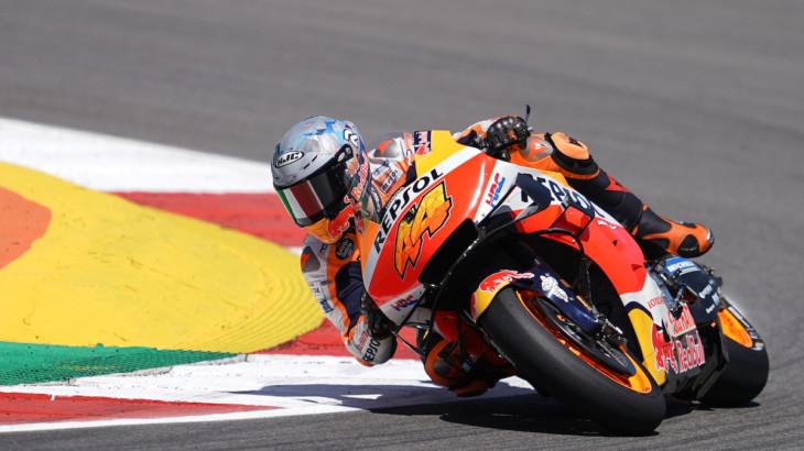 MotoGP2021 ポルトガルGP DNF ポル・エスパルガロ「ミスから学んで強くなって戻ってくる」