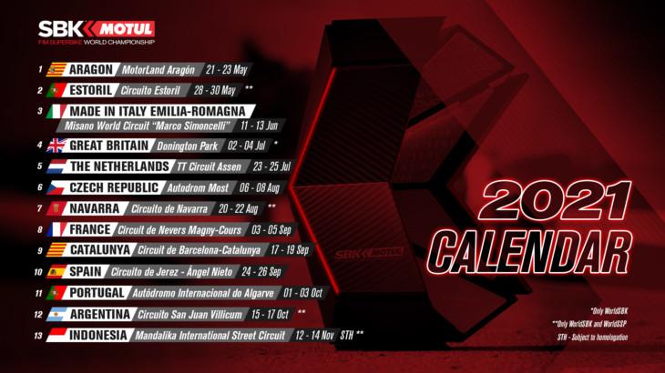 FIM スーパーバイク世界選手権(SBK)第6戦にチェコ/アウトドロム・モストが追加