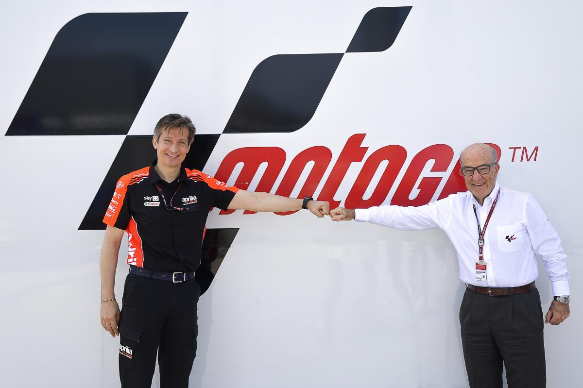 アプリリア・レーシング 2026年末までのMotoGP参戦でドルナ・スポーツと合意