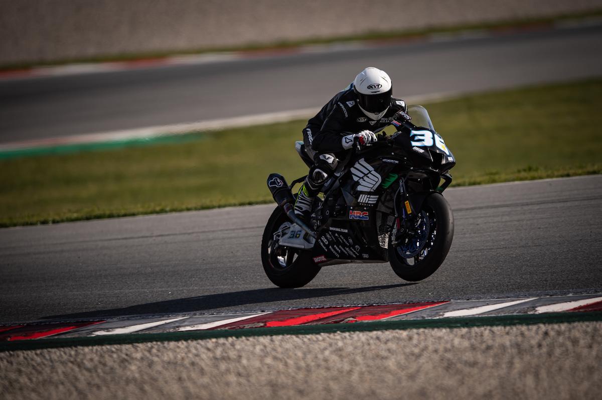 MIE Racing Honda Team カタルーニャでテストを終了