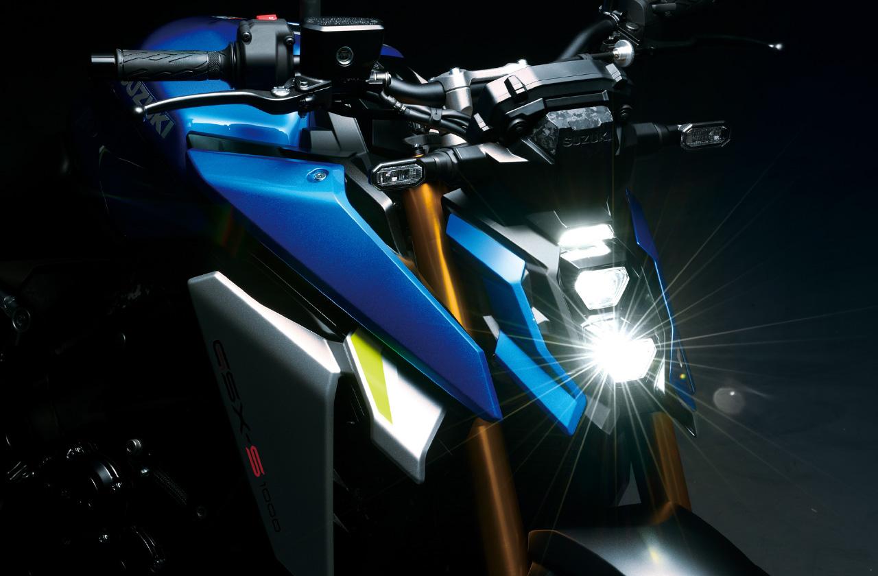 スズキ 新型GSX-S1000写真ギャラリー