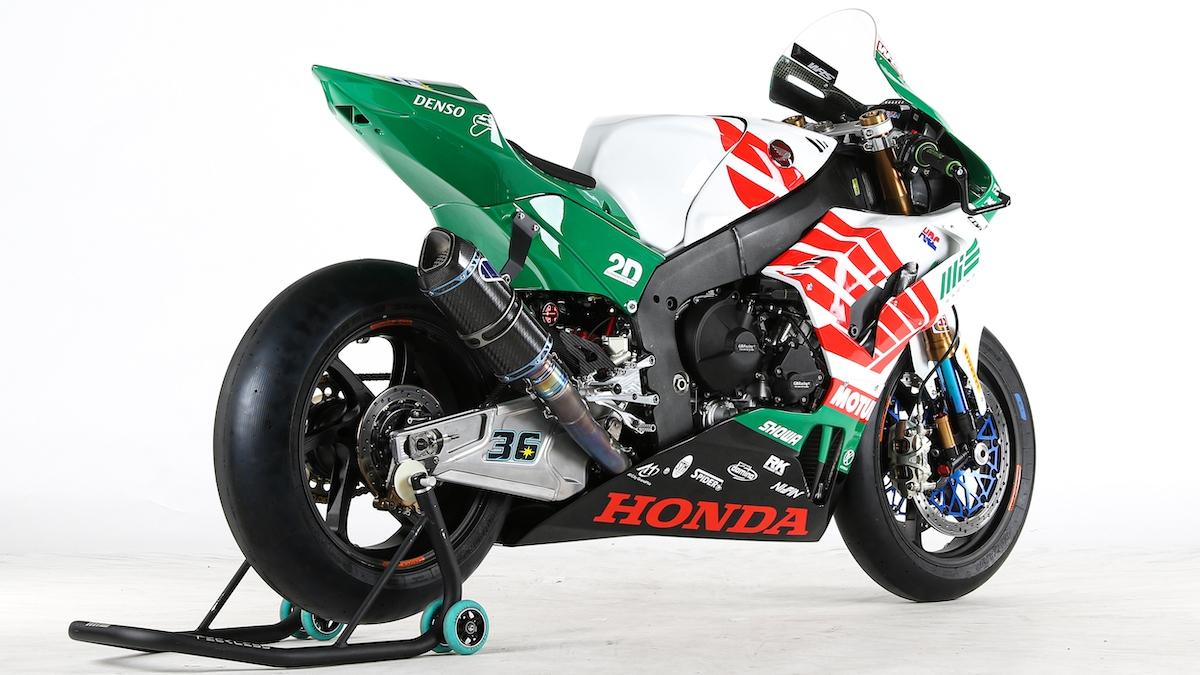 MIE Racing Honda Team 2021年のカラーリングを発表