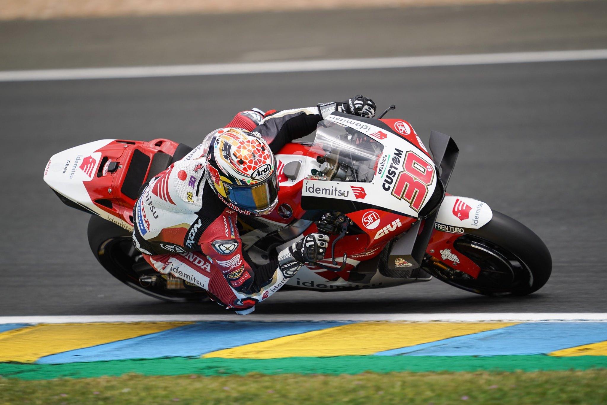フランスGP 初日総合10位 中上貴晶「トップ10を獲得できた事はポジティブ」