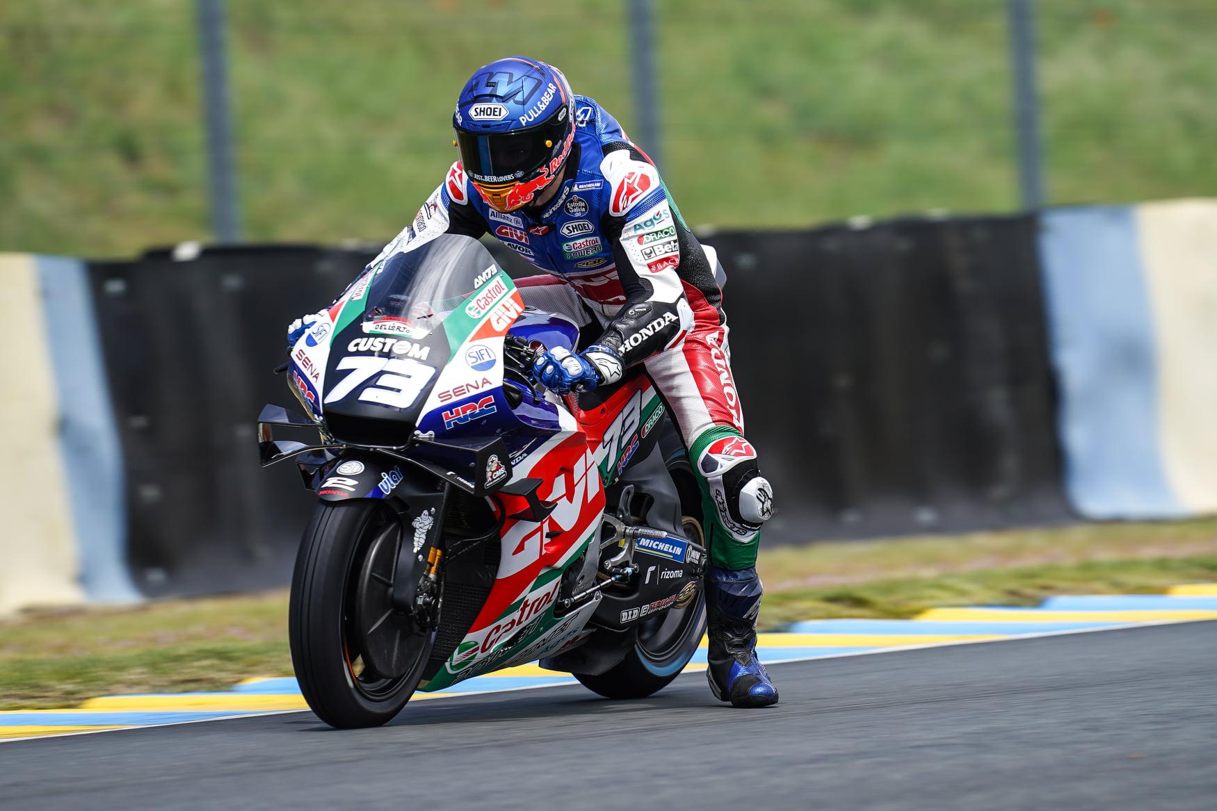 MotoGP2021 フランスGP アレックス・マルケス「ウェットコンディションでポジションを回復出来た」
