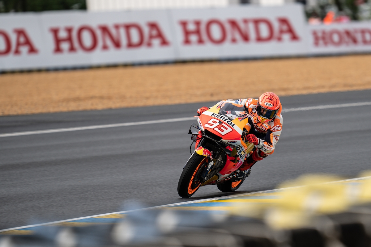 フランスGP 予選6位 マルク・マルケス「ウェットコンディションのレースなら何ら問題ない」