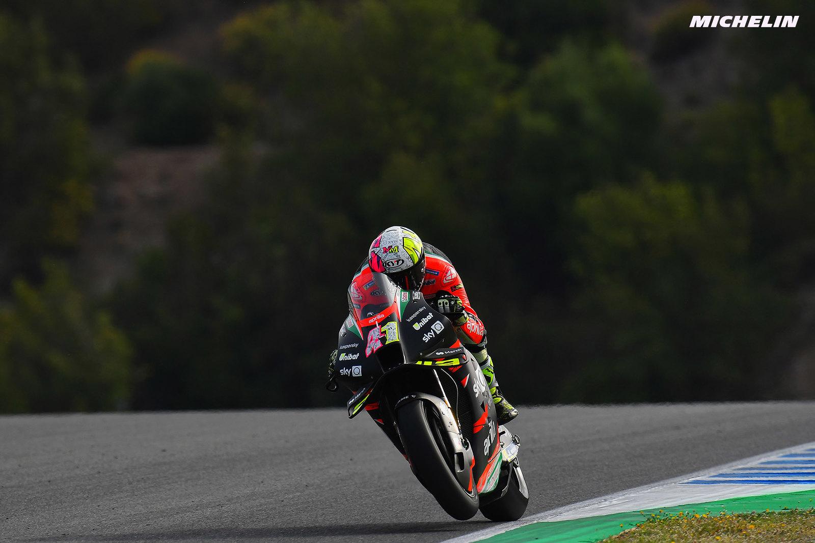 スペインGP 初日総合3位 アレイシ・エスパルガロ「レースタイヤで良いタイムを記録している」