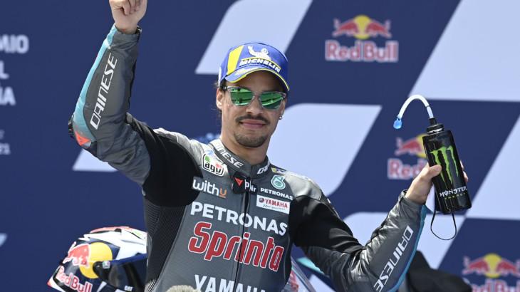 スペインGP 予選2位フランコ・モルビデッリ「昨年よりもバイクの習熟度が上がっている」