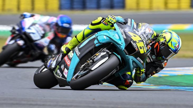 フランスGP 初日総合9位 バレンティーノ・ロッシ「コンスタントな走行ができていた」