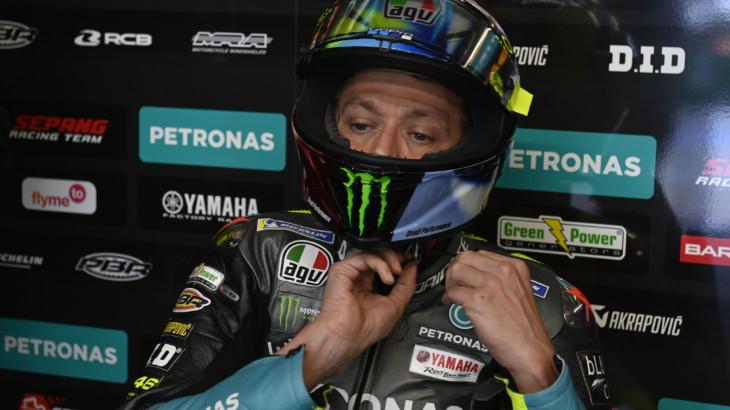 MotoGP2021 フランスGP 11位バレンティーノ・ロッシ「ミディアムレインタイヤなら状況は変わっていたかも」