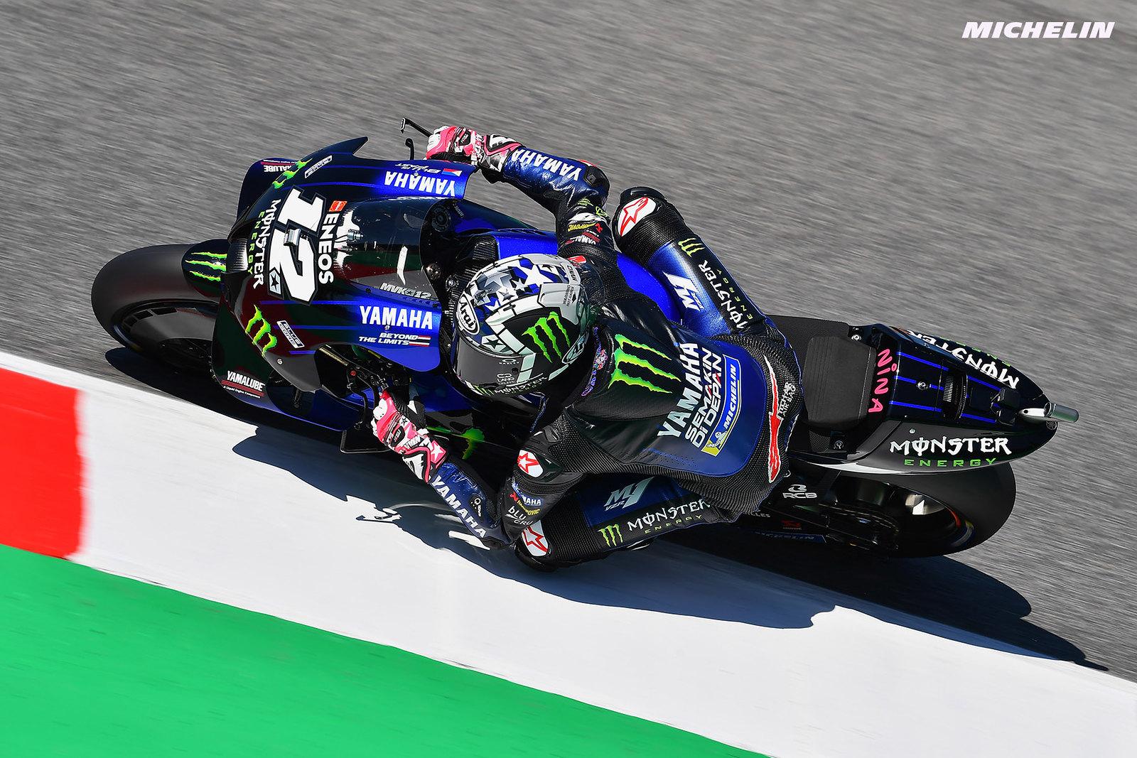 MotoGP2021イタリアGP 総合8位マーべリック・ビニャーレス「明日に向けて大きく改善出来る」