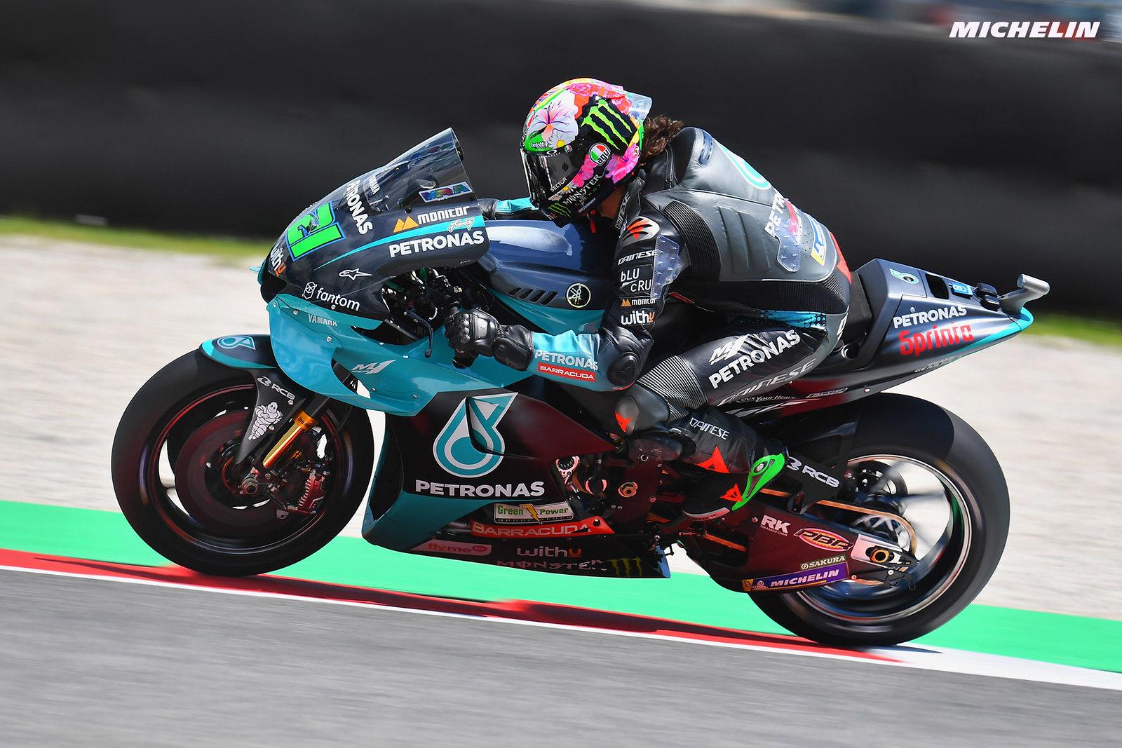 MotoGP2021イタリアGP 初日総合3位 フランコ・モルビデッリ「緻密な作業を続けている結果」