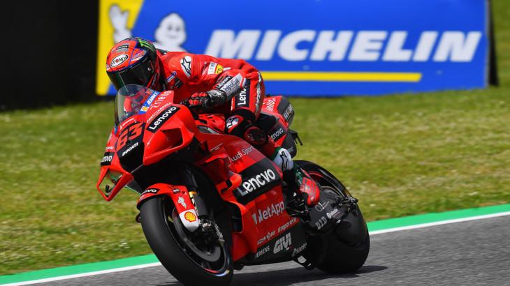MotoGP2021イタリアGP 予選2位フランセスコ・バグナイア「スタートからプッシュしていきたい」