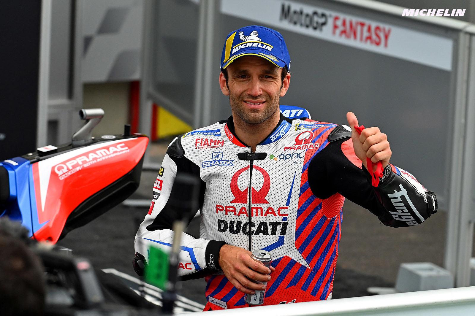 MotoGP2021イタリアGP 予選3位ヨハン・ザルコ「予選で週末のミスを挽回出来た」