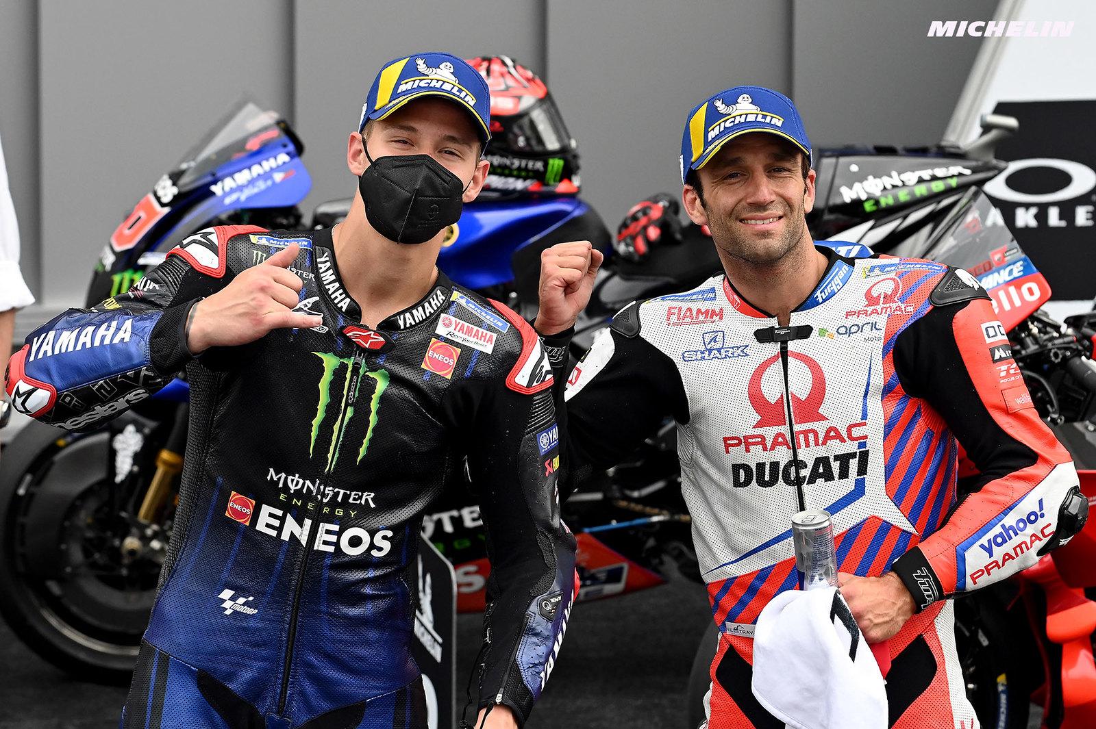 MotoGP2021イタリアGP 予選1位ファビオ・クアルタラロ「キャリアを通じてベストな走行だった」