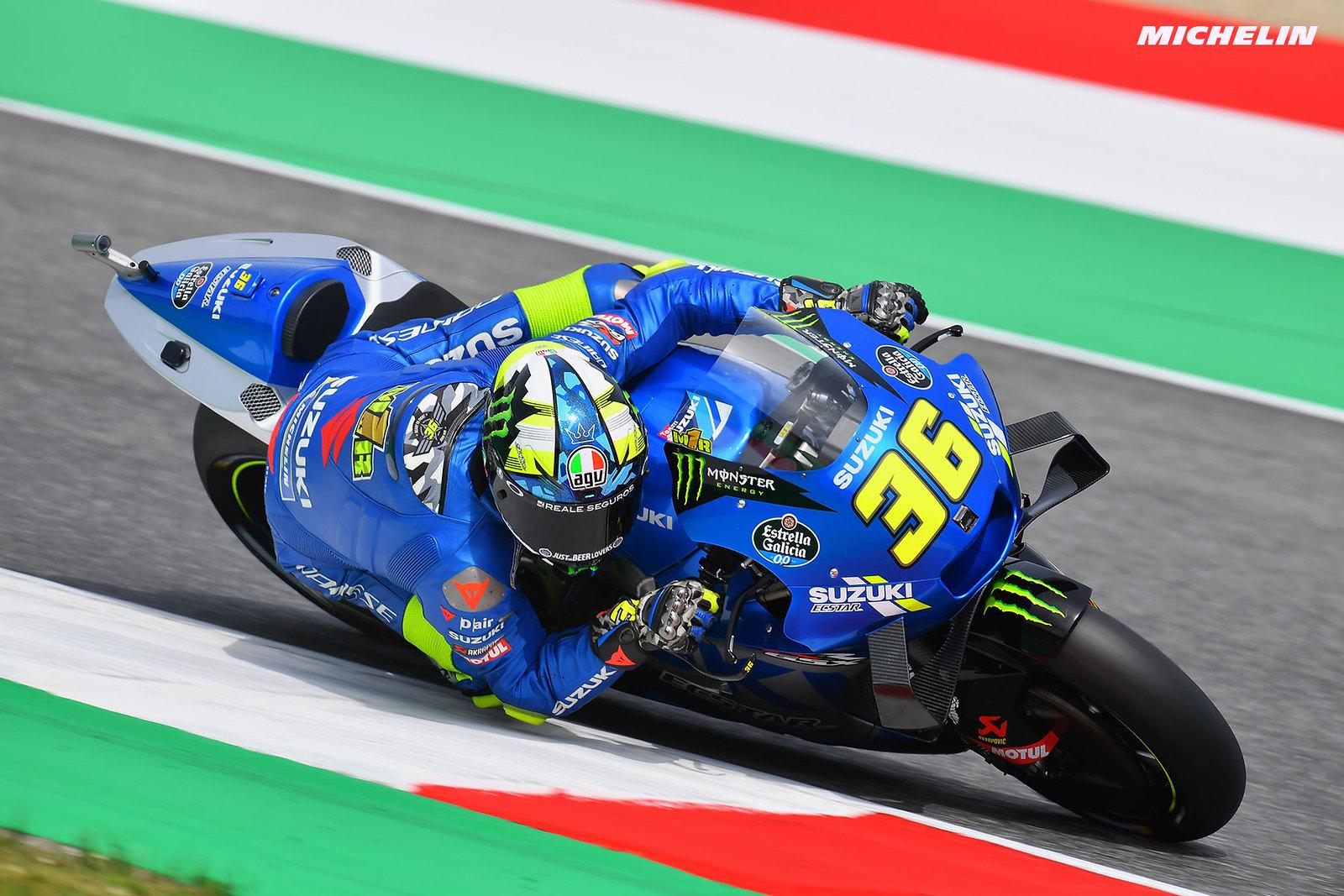 MotoGP2021イタリアGP 9位ジョアン・ミル「少しずつ予選結果は改善している」