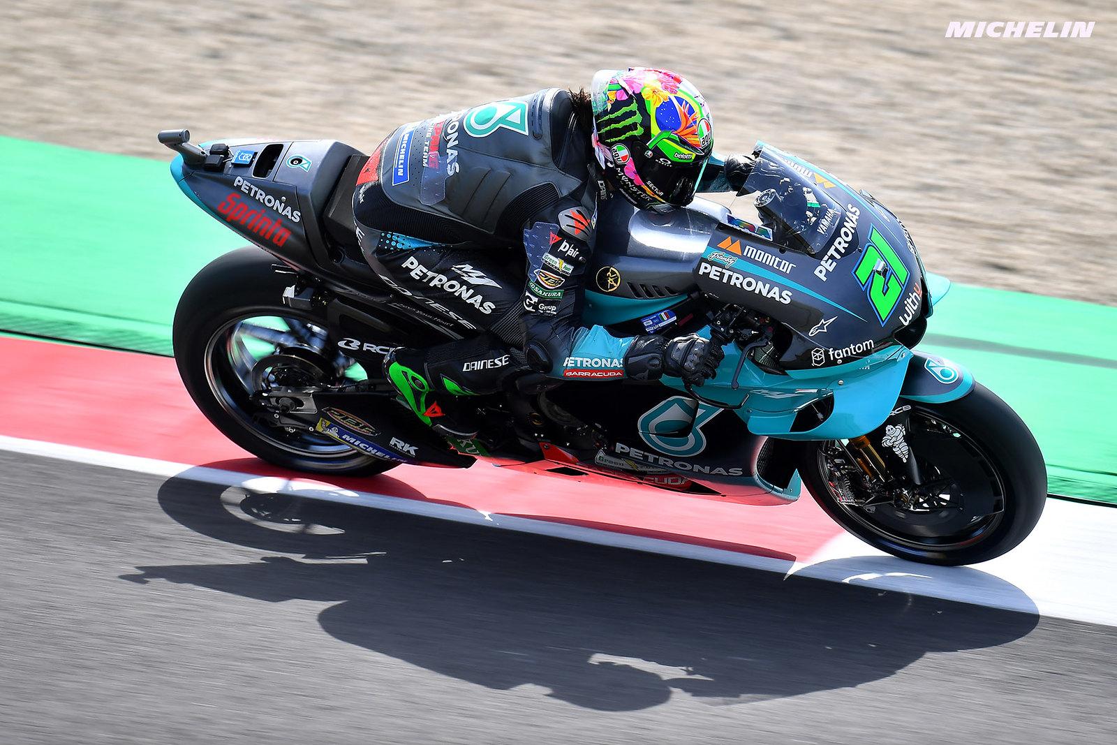 MotoGP2021イタリアGP 予選10位フランコ・モルビデッリ「今朝のスピードを再現することができなかった」