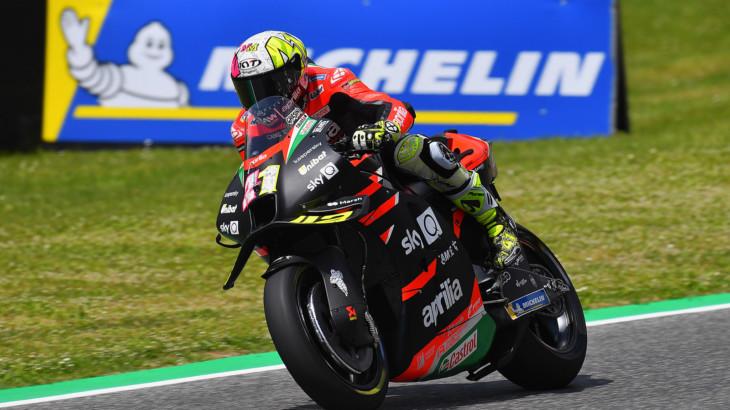 MotoGP2021イタリアGP 予選4位アレイシ・エスパルガロ「表彰台を夢見ても良いと言える。」