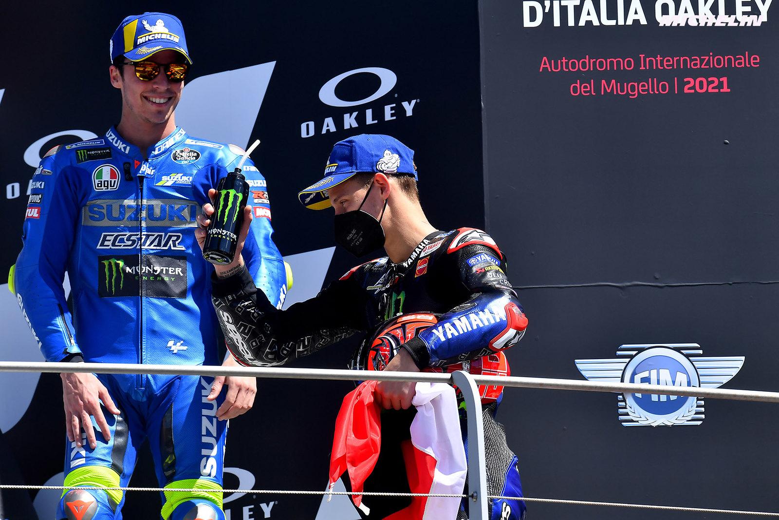 MotoGP2021イタリアGP 優勝ファビオ・クアルタラロ「この優勝はジェイソンに捧げる」