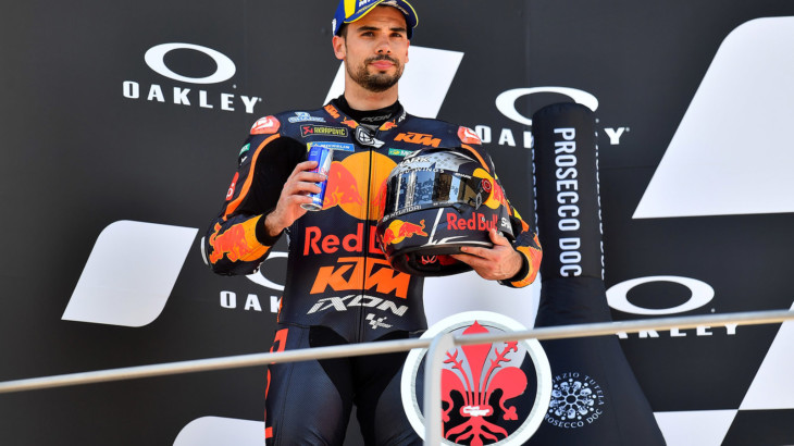 MotoGP2021イタリアGP 2位ミゲル・オリヴェイラ「新しいシャーシで安定したペースで走行出来た」