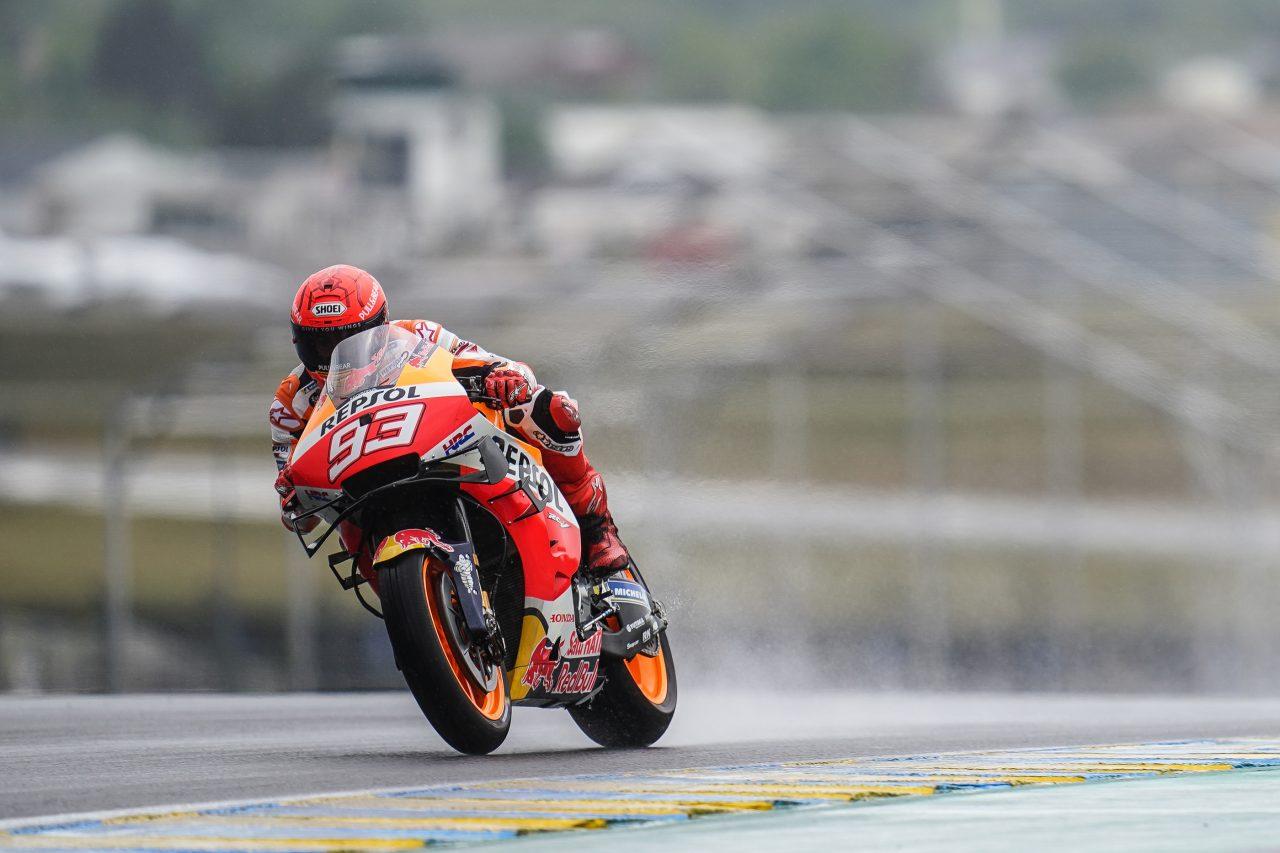 MotoGP2021 フランスGP DNFマルク・マルケス「天候による状況を活かすことが出来なかった」