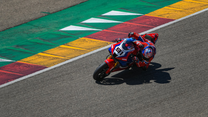 FIM スーパーバイク世界選手権(SBK)2021 アラゴン戦 レオン・ハスラム「バイクの安定性は向上している」