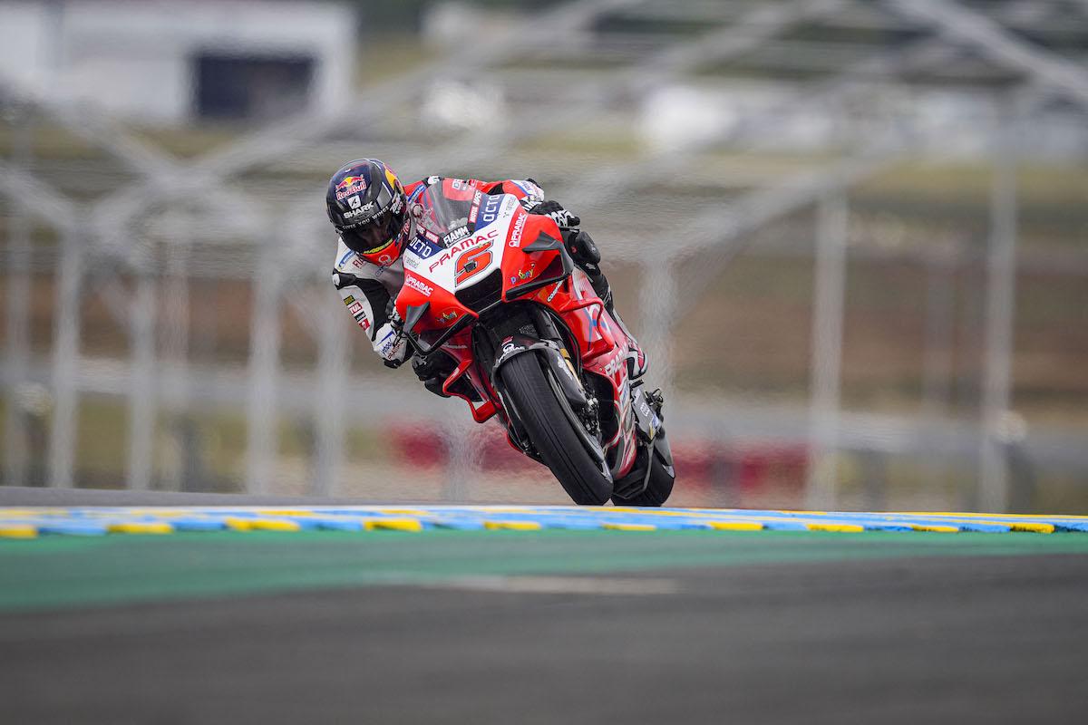 フランスGP 初日総合1位 ヨハン・ザルコ「フルウェットになるならば、もう少し感覚を掴みたい」