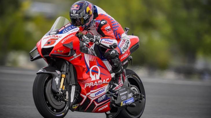 MotoGP2021イタリアGP ヨハン・ザルコ「現在の最高速記録を破りたい」
