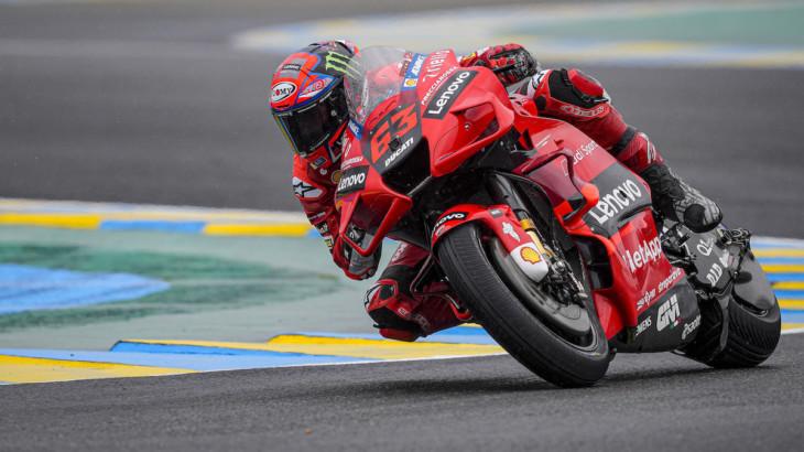 MotoGP2021イタリアGP フランセスコ・バグナイア「ムジェロはDucatiに合っているトラック」
