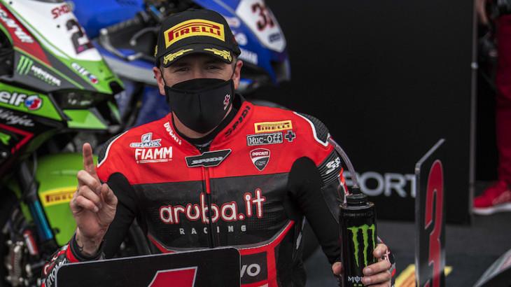 FIM スーパーバイク世界選手権(SBK)2021アラゴン戦 レース2 優勝スコット・レディング「今日は迷わずスリックを選んだ」