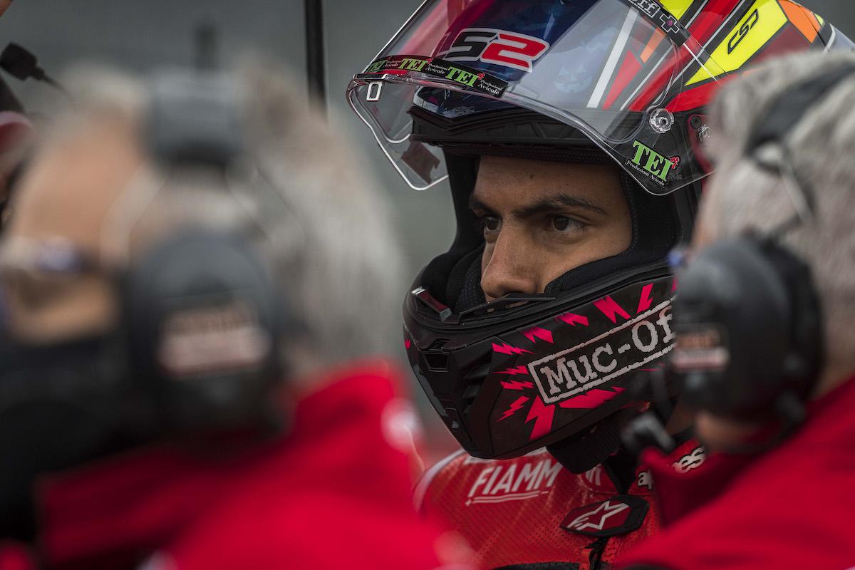 FIM スーパーバイク世界選手権(SBK)2021 アラゴン戦 レース2 16位リナルディ「キャリアの中でも最悪のレースだった」