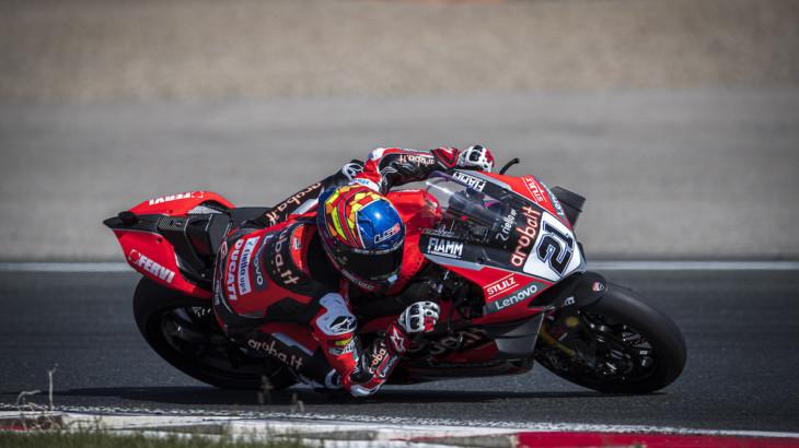 FIM スーパーバイク世界選手権(SBK)2021 アラゴン戦 マイケル・ルーベン・リナルディ「重要なのは落ち着いて週末を迎えること」