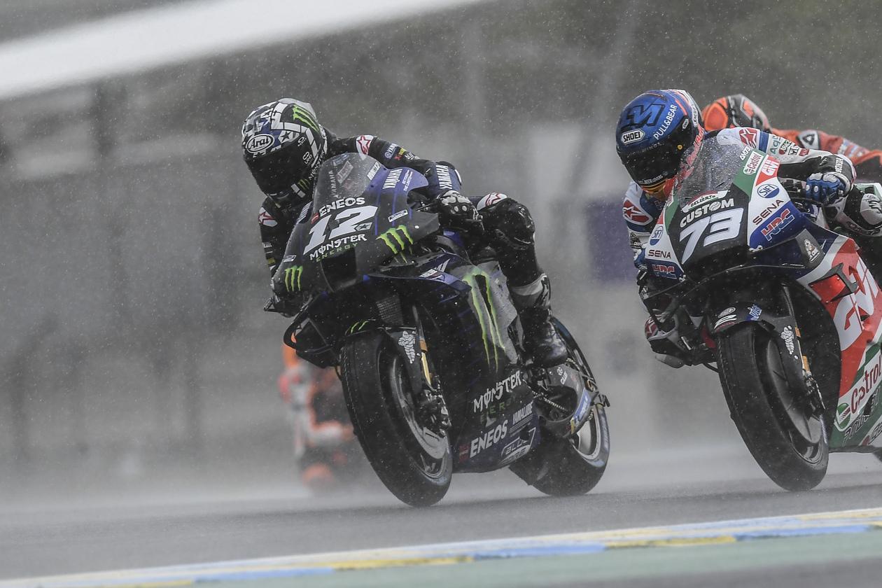 MotoGP2021 フランスGP マーべリック・ビニャーレス「ドライコンディションなら優勝争い出来た」