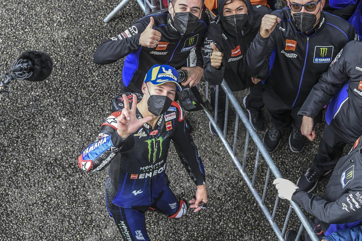 MotoGP2021 フランスGP ファビオ・クアルタラロ「今まで最もクレイジーなレースだった」
