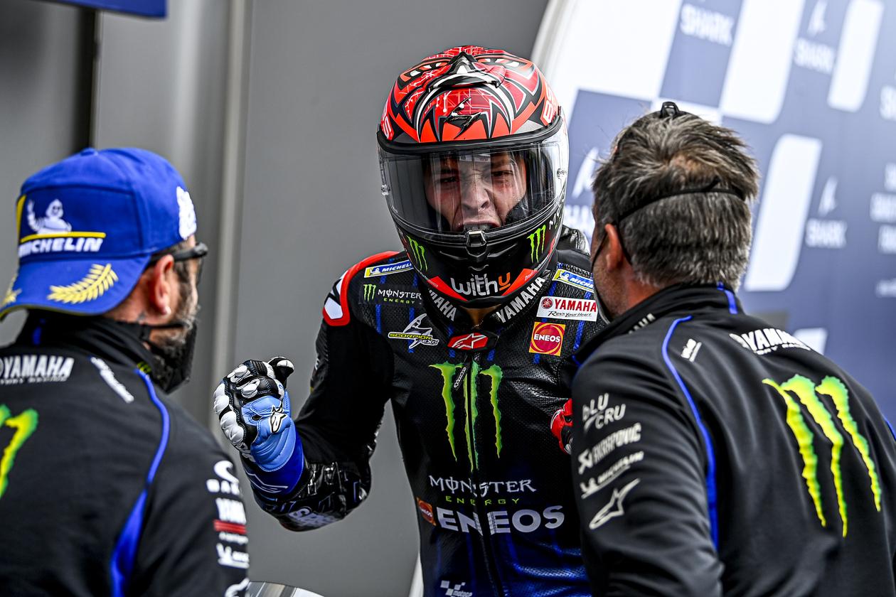 フランスGP 予選1位 ファビオ・クアルタラロ「ドライならば優勝争いができる」