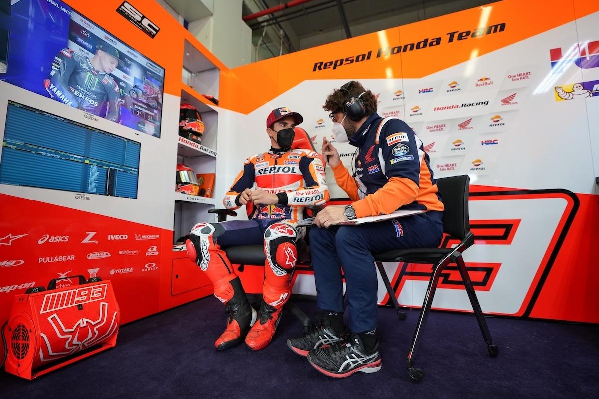 スペインGP 初日総合16位 マルク・マルケス「 ポルトガルからレースへのアプローチを変えている」