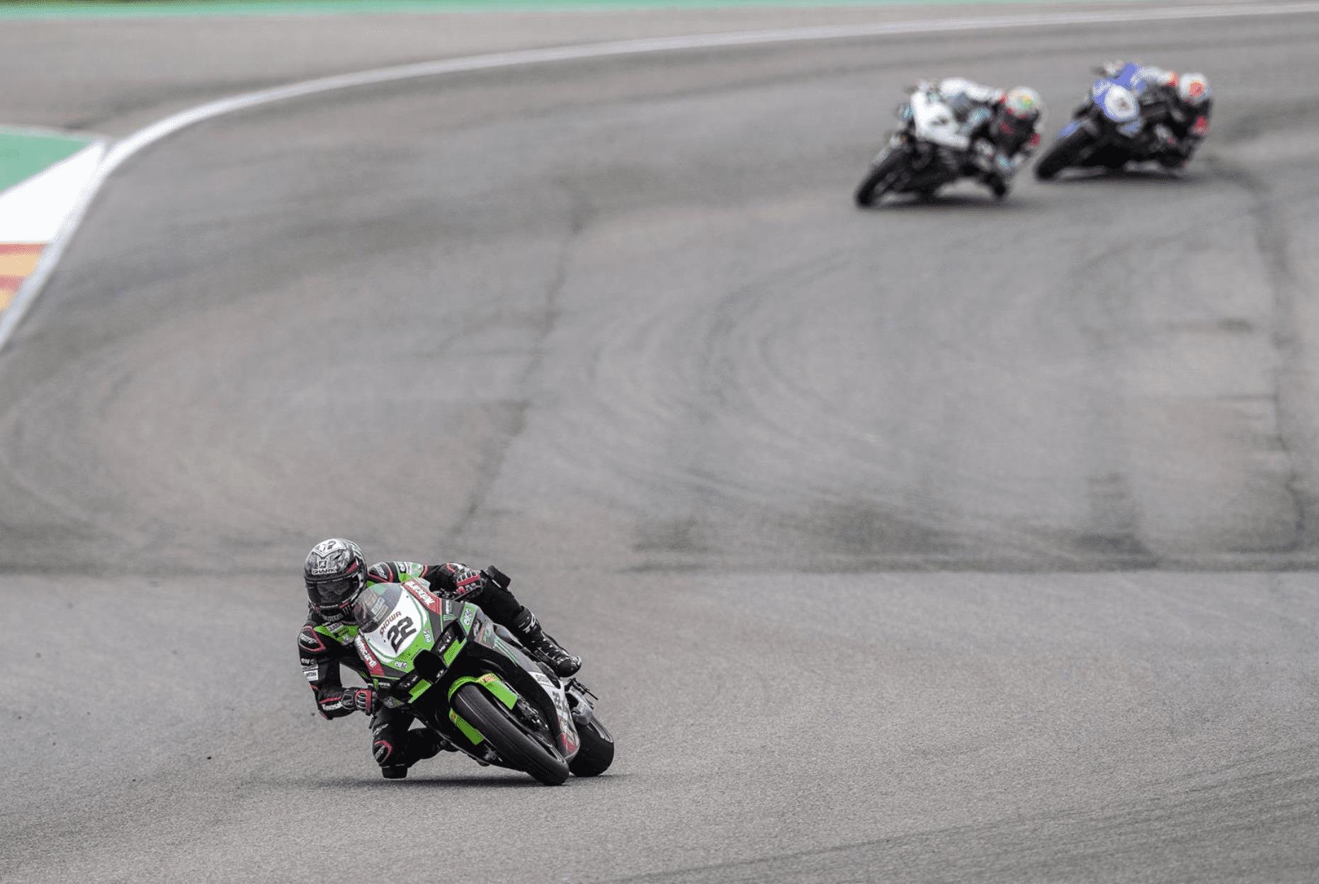 FIM スーパーバイク世界選手権(SBK)2021アラゴン戦 レース2 3位アレックス・ロウズ「レース2でレディングについていくのは無理だった」